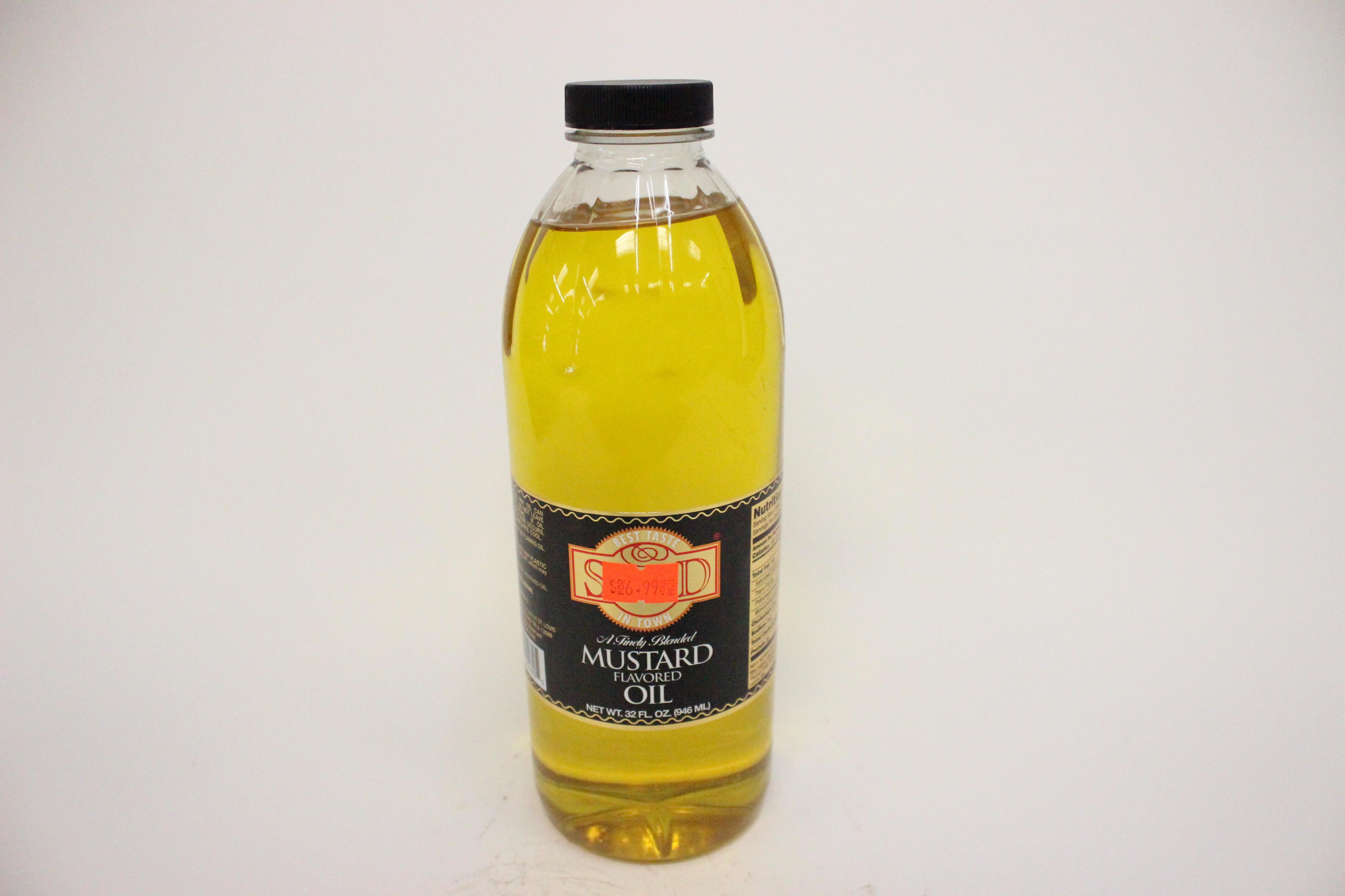 Swad Mustard Flavoured Oil 32 oz