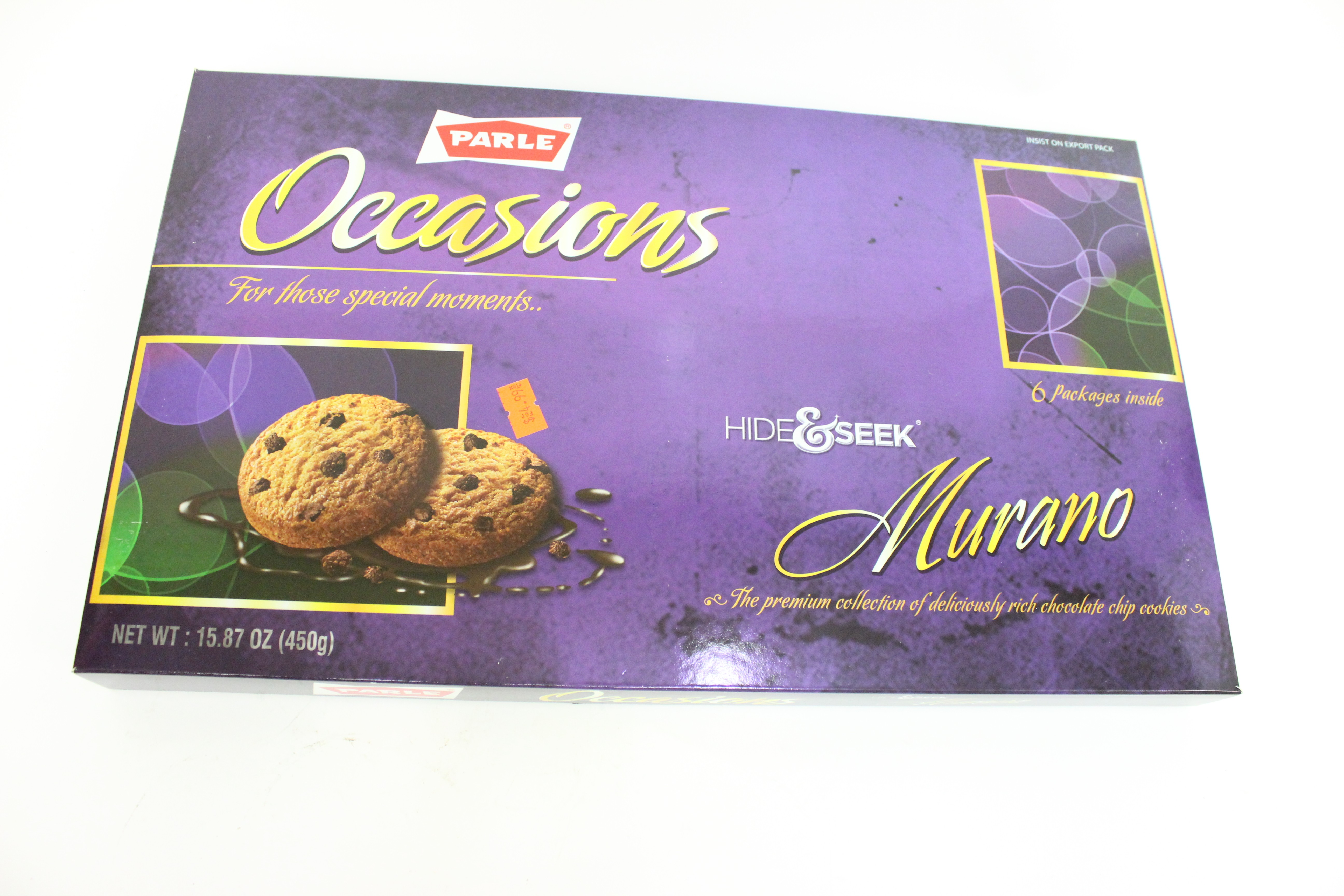 Parle Occasions Murano Chocolate Chip Cookies 6 Pack 15.87 oz