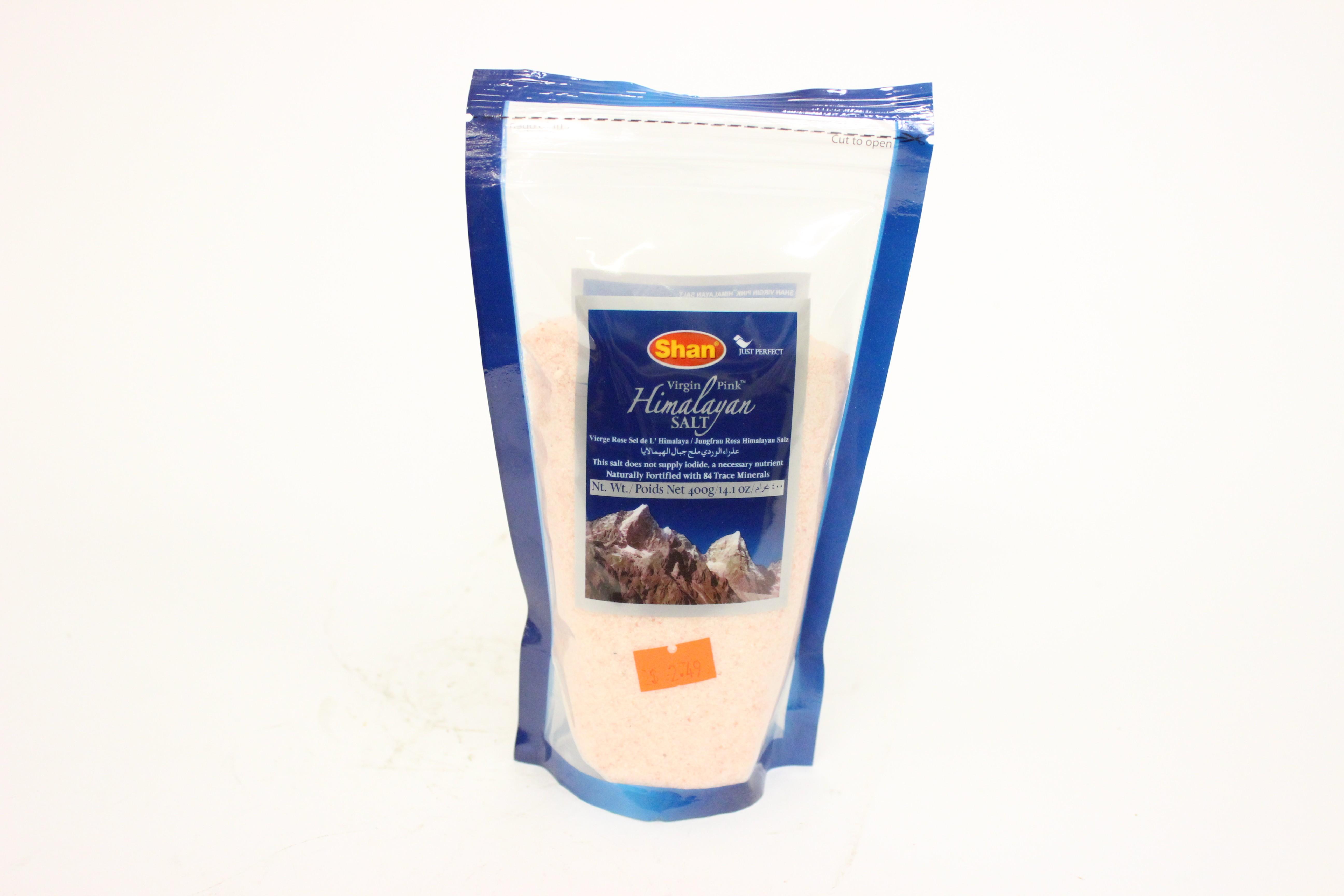 Shan Virgin Himalayan Pink  Salt Powder 14.1 oz