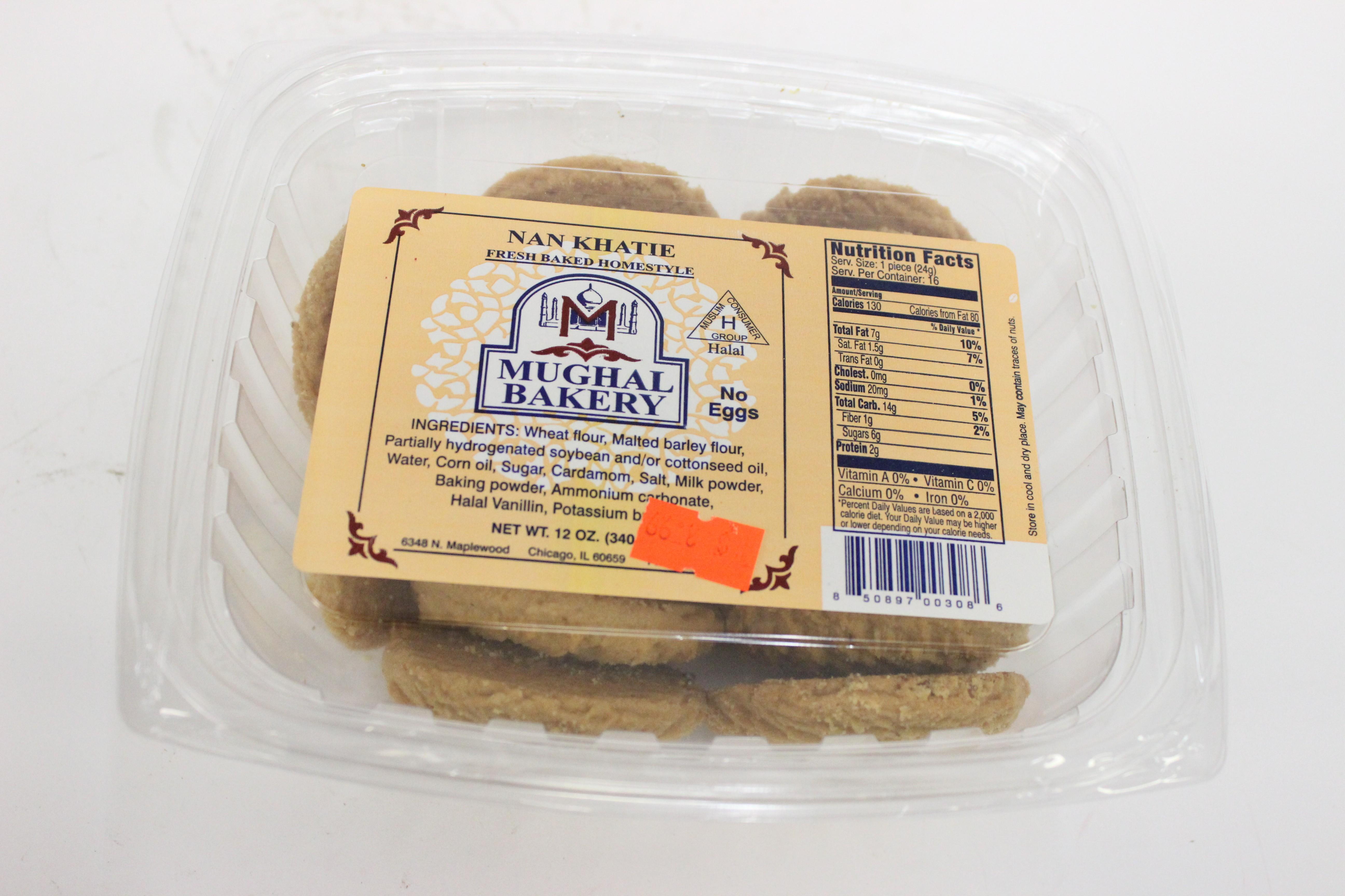 Mughal Bakery Nan Khatie 12 oz