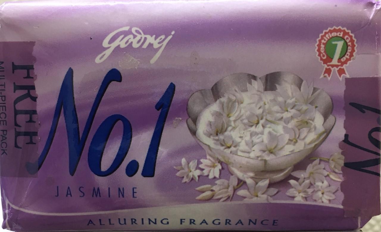 Goderage No 1 Jasmine Soap 75 grm (Buy 3 Get 1 Free)