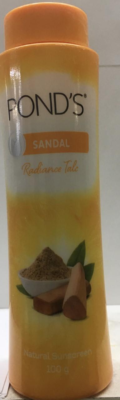POND'S Sandal Radiance Talcum Powder,Natural Sunscreen 100 grm