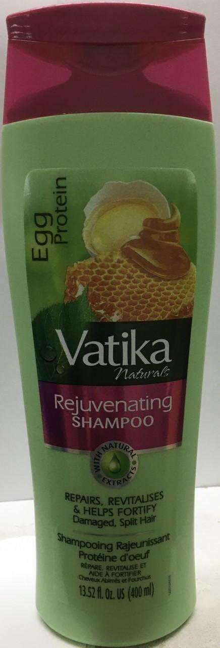 Vatika Naturals Egg Protein Rejuvenating Shampoo 13.52 oz
