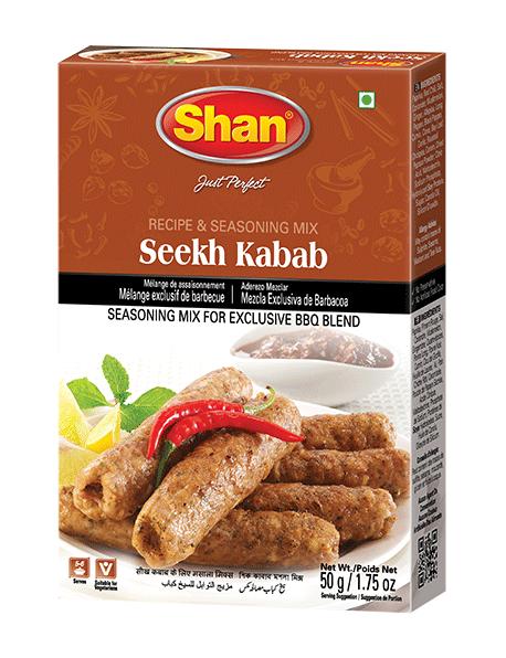 Shan Seekh Kabab BBQ Spice Mix 50 grm