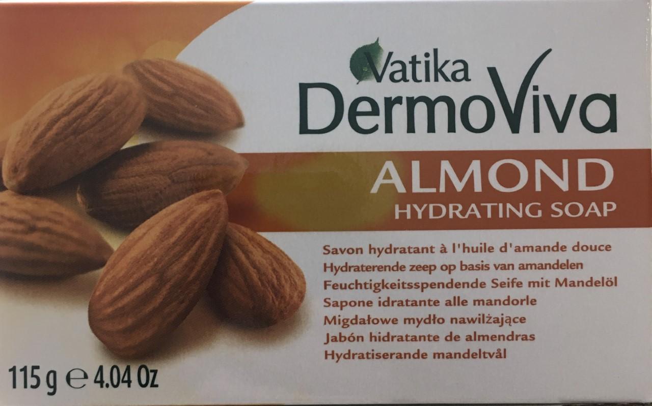 Vatika DermoViva Almond Hydrating Soap 115 grm