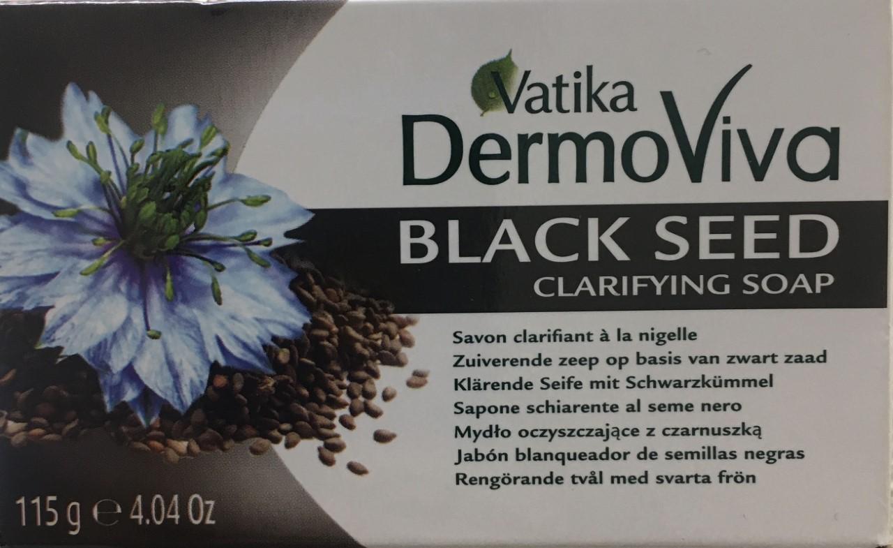 Vatika DermoViva Black Seed Clarifying Soap 115 grm