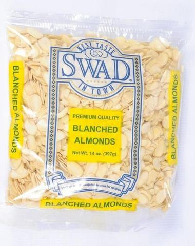 Premium Quality Blanched Almonds 14 oz