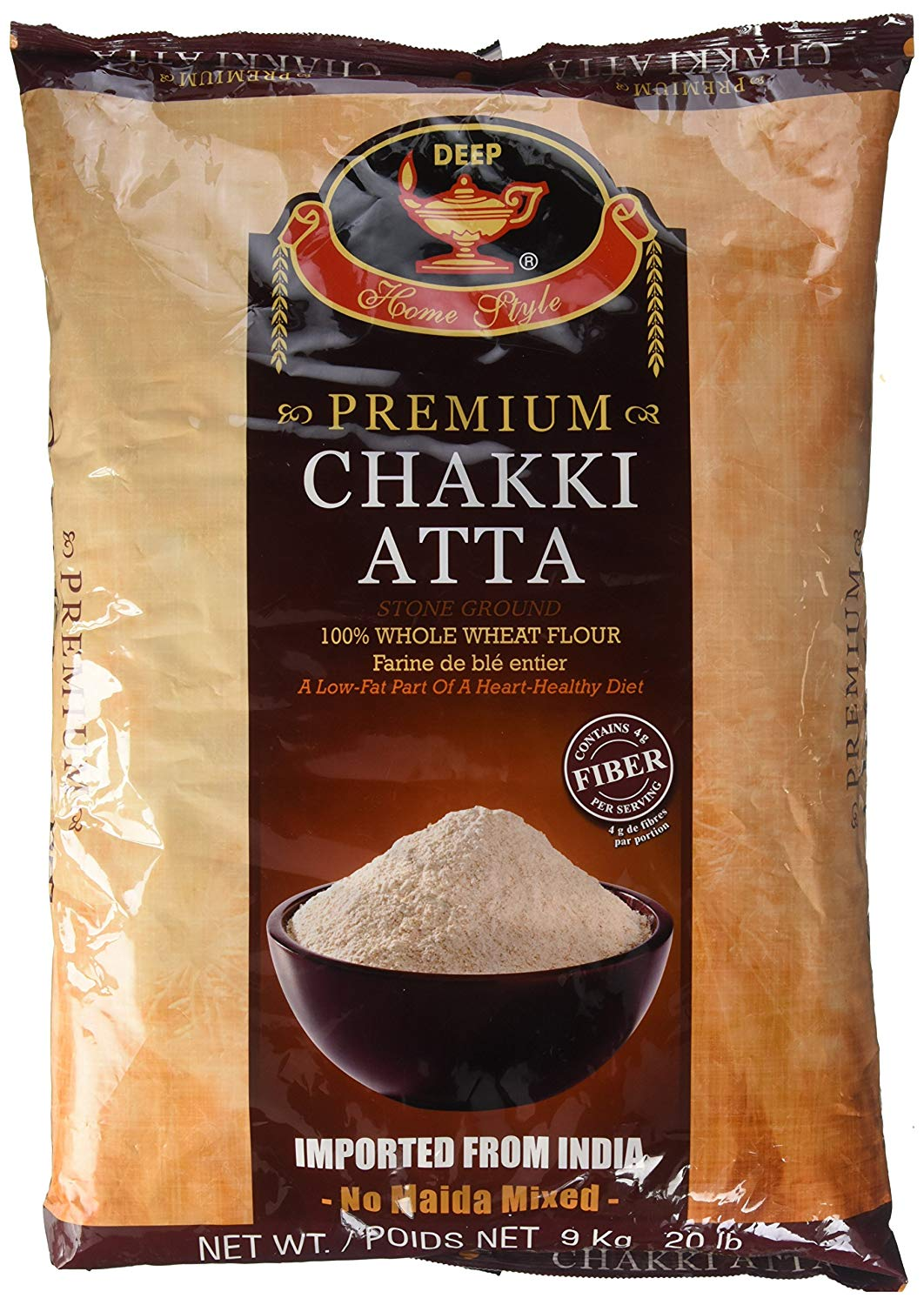 Deep Whole Wheat Chapati Flour 20 lbs