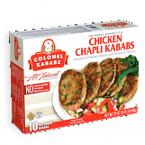 Colonel Chicken Chapli Kababs 8 pcs 20 oz