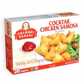Colonel Cocktail Chicken Samosa Turnover 30 pcs 15 oz