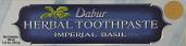 Dabur's Imperial Basil Herbal Toothpaste 154 grm