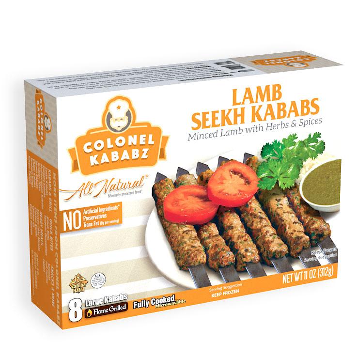 Colonel's Lamb Seekh Kabab 8 pcs 320 grm