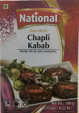 National Chapli Kabab Spice Mix 100 grm