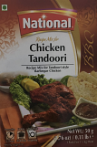 National Chicken Tandoori Spice Mix 50 grm