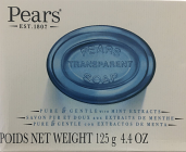 Pears Transparent Soap with Mint Extracts Extracts 125 grm