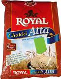 Royal Whole Wheat Chakki Atta 10lbs