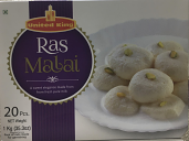 United King Ras Malai-20 pcs-35.3 oz 1 kg