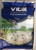 Vital Extra Long Basmati Rice 10 lbs