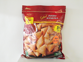 Deep Cocktail Potato Samosa 50 pcs 15 oz