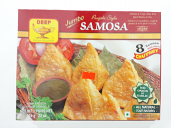Deep Jumbo Punjabi style Samosa with Chutney 8 pcs 22 oz
