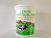 Desi Whole Milk Yogurt 2 lbs