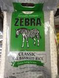 Zebra Classic 1121 XXL Basmati Rice 10lb